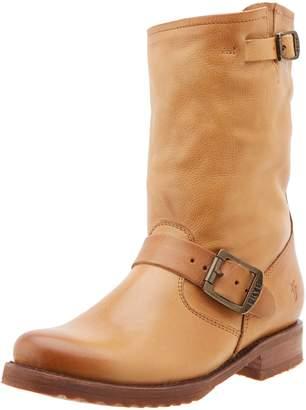 Frye Women's Veronica Short Boot, Camel Soft Vintage Leather