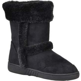 Brinley Kids Girl's Faux Fur Trim Boots