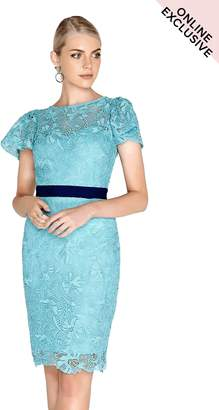 Paper Dolls Outlet Aqua Lace Dress