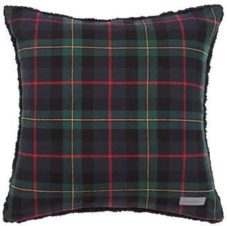 Eddie Bauer Mountain Pine Tartan Dark Green Throw Pillow