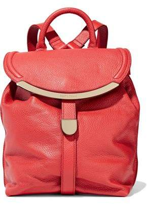 See by Chloe Lizzie Pebbled-Leather Backpack