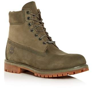 Timberland Men's Waterproof Nubuck Leather Hiking Boots