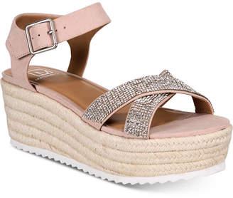 Material Girl Women Brinny Platform Espadrilles, Women Shoes