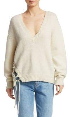 IRO Mylo Lace-Up Sweater