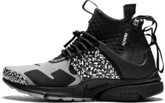 Nike Presto Mid /Acronym - 'Cool Grey' - Cool Grey/Black