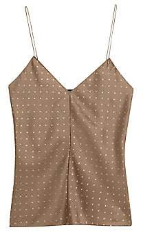 Theory Women's Polka Dot Silk Camisole