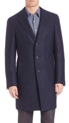 CanaliCanali Wool Topcoat