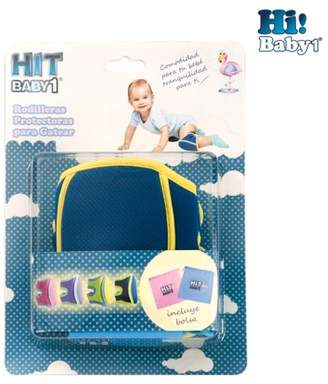 HI! BABY1 Knee pads Blue for babies crawling Toddler Infant useful with diapers, socks, pants and trousers for walking and playing.