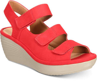 Clarks Women's Reedly Juno Wedge Sandals Women's Shoes