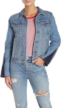 GRLFRND Bianca Contrast Denim Jacket