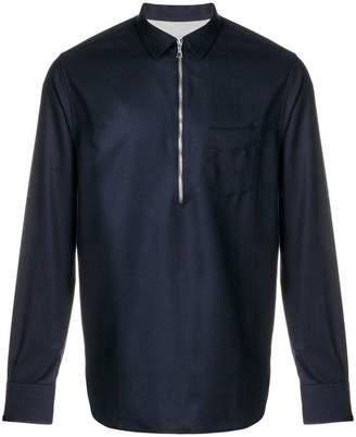 Officine Generale half zip shirt