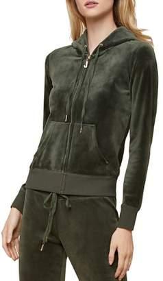 Juicy Couture Black Label Robertson Luxe Velour Hoodie