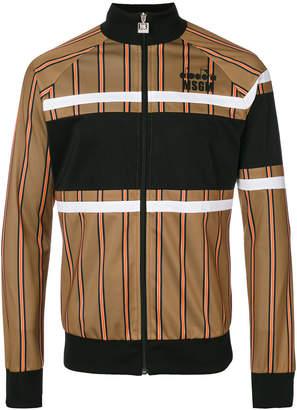 MSGM striped bomber jacket