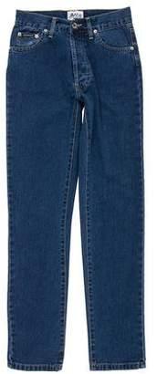Dolce & Gabbana Mid-Rise Logo Jeans w/ Tags