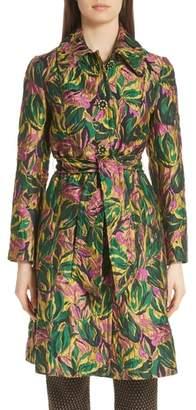 Etro Enamel Button Floral Jacquard Jacket