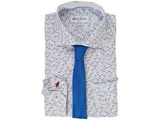 Robert Graham Velo Dress Shirt Men's Long Sleeve Button Up