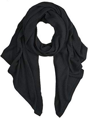 Pieces Women's Pcfilli Long Scarf Black