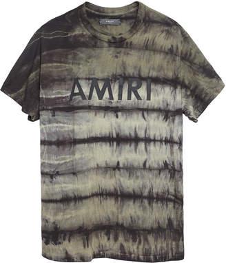 Amiri Tie and dye tee shirt