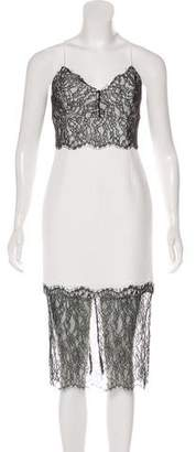 Nicholas Lace Cocktail Dress