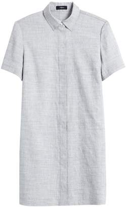 Theory Button-Down Shirtdress