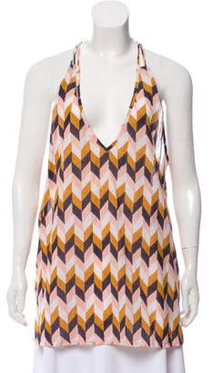 Roberta Roller Rabbit Abstract Printed Sleeveless Top w/ Tags