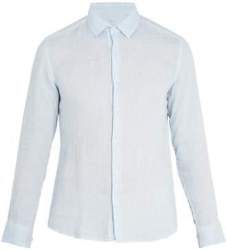Altea Point-collar linen shirt