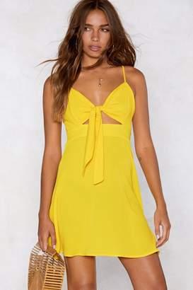 Nasty Gal You Are My Sunshine Mini Dress