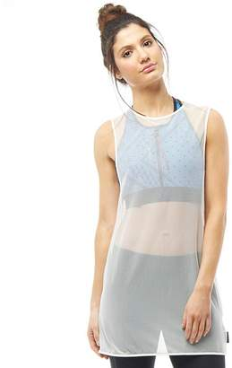 Reebok Womens Cardio Speedwick Fashion Tank Chalk