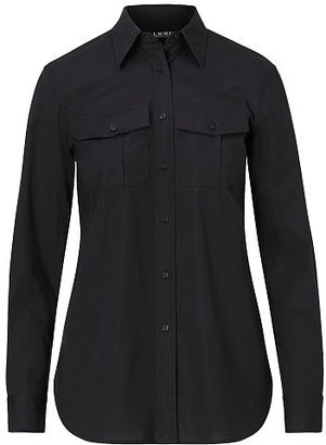 Ralph Lauren Cotton Broadcloth Shirt $79.50 thestylecure.com