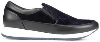 Donald J Pliner REESE, Quilted Velvet Slip-On Sneaker