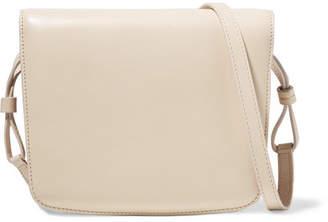 The Row Julien Leather Shoulder Bag - Ivory
