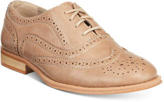 Wanted Babe Lace Up Oxford Women's Shoes