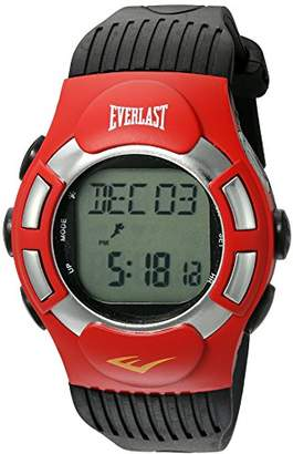 Everlast Automatic Plastic and Rubber Fitness Watch