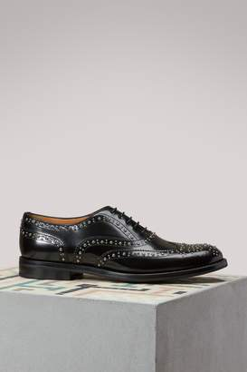 Church's Burwood leather derby shoes