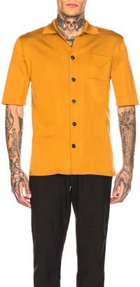 Maison Margiela Interlock Stitch Shirt in Cinnamon | FWRD