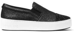 MICHAEL Michael Kors Tia Glitter Platform Sneakers