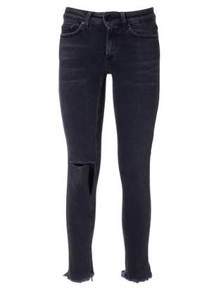 Dondup Ripped Detail Jeans