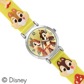 Disney (ディズニー) - ディズニー Disney チップ&デール 人気キャラクター腕時計 イエロー WD-S02-CD