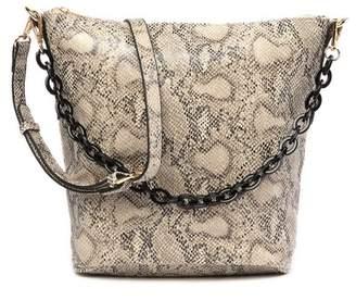 Street Level Chain Handle Crossbody Bag