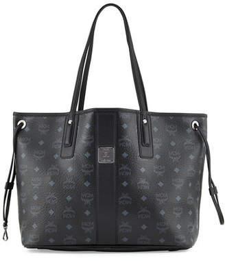 MCM Liz Reversible Medium Visetos Tote Bag