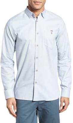 Ted Baker Slim Fit Textured Sport Shirt