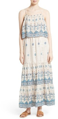 Women's Joie Sorne Print Popover Maxi Dress $448 thestylecure.com