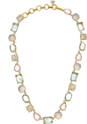 Bounkit 14K Plated Moonstone Necklace