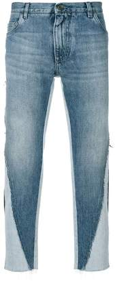 Dolce & Gabbana deconstructed jeans