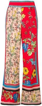 Alice + Olivia Alice+Olivia floral print palazzo trousers