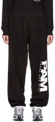 Perks And Mini Black Jog Lounge Pants