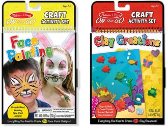 Melissa & Doug Face Painting & Clay Creations On-the-Go Crafts Bundle $13.99 thestylecure.com