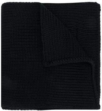 Prada ribbed knit scarf