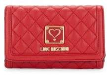 Love Moschino Quilted Wallet