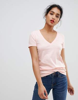 J.Crew Mercantile classic pink v-neck t-shirt